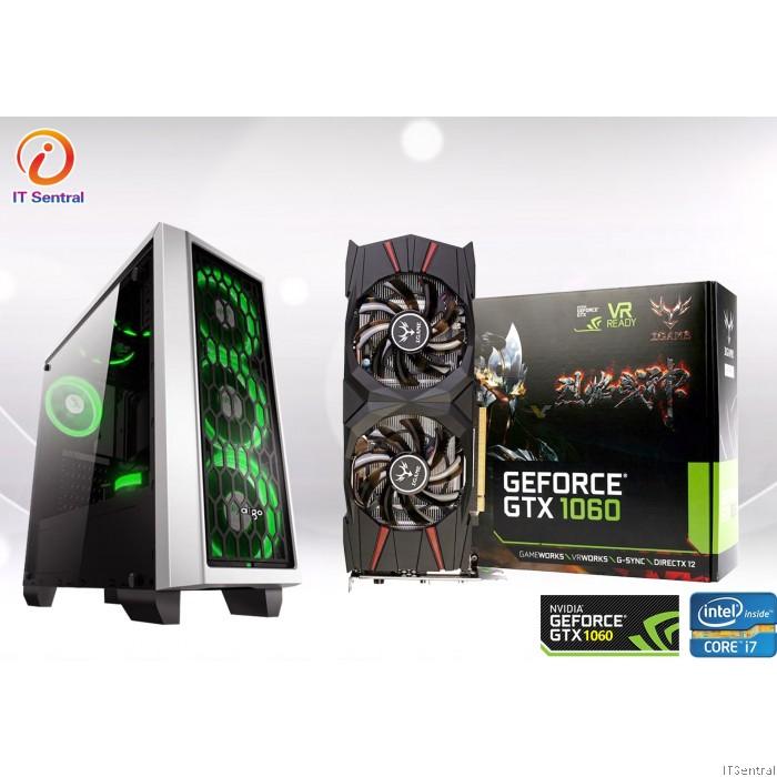 Aigo Gaming RIG PC with Intel i7 3770 +GTX1060 3GB