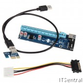 Mining PCIE / PCI USB 3.0 Riser Express card