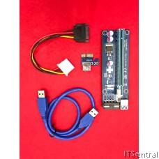 Mining PCIE / PCI USB 3.0 Riser Express card