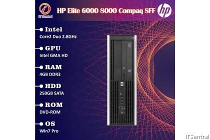 256GB SSD 8GB HP Elite 6000 8000 Compaq Pro SFF desktop PC 160GB 500GB HDD 128GB 4GB murah bajet refurbished komputer CPU computer