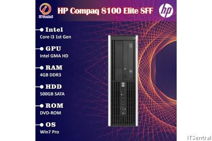 480GB SSD or 16GB i7 HP Elite 8100 SFF desktop PC 4 also have i3 i5 256GB 128GB 500GB 8GB murah bajet refurbished CPU