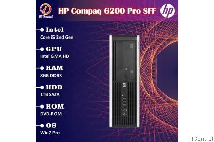 Fully refurbished Core i5 8GB 1TB HDD HP Compaq 6200 desktop PC office & school use