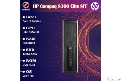 960GB SSD + 32GB RAM + i7 Refurbished HP Elite 6300 8300 Compaq SFF desktop PC i3 i5 murah bajet refurbished CPU system komputer