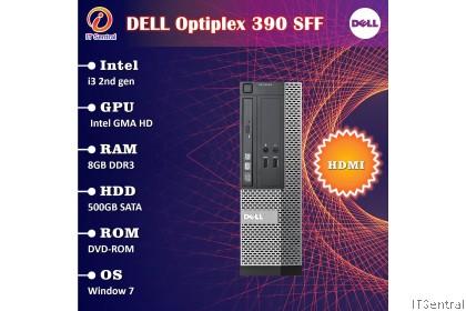 480GB SSD Core i3 Dell Optiplex 390 SFF Desktop PC - also 240GB 500GB  + gaming