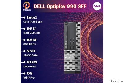 480GB SSD 16GB RAM Core i7 Dell Optiplex 790 990 SFF desktop PC also 8GB 240GB SSD