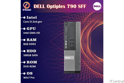 CHEAP 16GB RAM 240GB SSD Dell Core i3 Optiplex 790 990 SFF desktop PC -also 480GB
