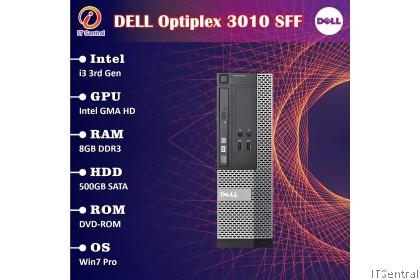 960GB SSD + 16GB + i7 Dell Optiplex 3010 desktop PC - customize to i3 i5 4GB 8GB 480GB 256GB boleh CPU refurbished