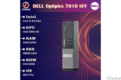 960GB SSD + 32GB RAM + i7 Dell Optiplex 7010 SFF DT desktop PC - customize to Pentium i3 i5 4G 8GB 16GB boleh