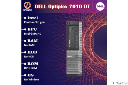 240GB SSD + 16GB + i7 Dell Optiplex 7010 desktop PC - customize to i3 i5 boleh